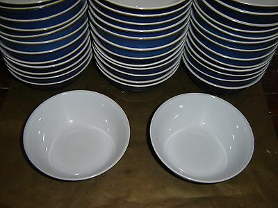 "1x denby imperial blue cereal / soup bowl 6.5"" diameter (several available)"