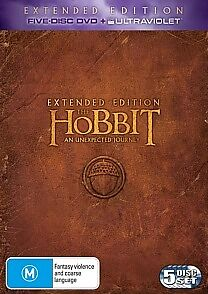 The HOBBIT – An Unexpected Journey - Extended Edition - NEW DVD - Region 4