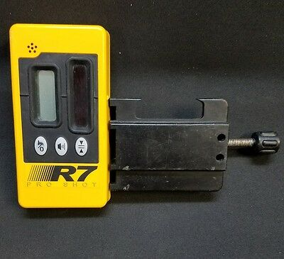 Laser Reference R7 DUAL SIDED LASER RECEIVER w/ Holder for TOPCON, SPECTRA,LEICA