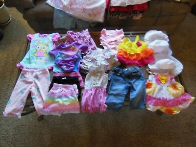 Girls Clothes 12 months, smoke and pet free home.
