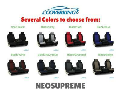 COVERKING NEOSUPREME CUSTOM FIT SEAT COVERS for NISSAN LEAF