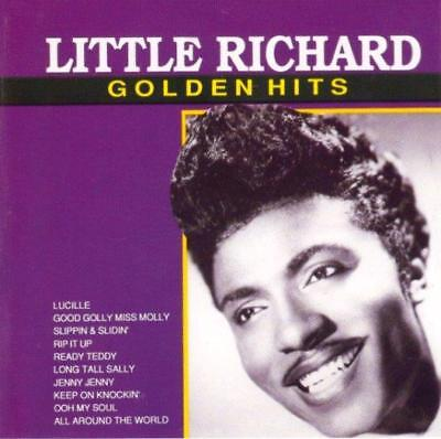 LITTLE RICHARD - Golden Hits (CD 1996) RARE First Edition EXC Greatest / Best of