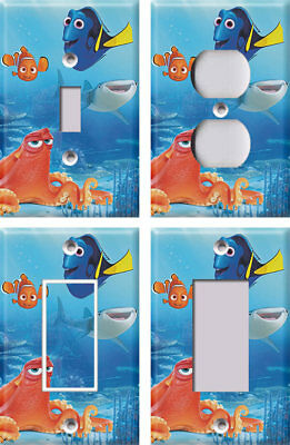 Disney FInding Nemo Dory 2 - Light Switch Covers Home Decor Outlet