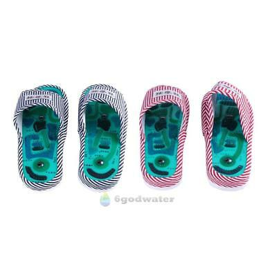 1Pair Foot Massage Slippers Health Magnetic Acupuncture Feet Care Massager Shoes