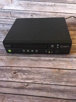 ION VCR 2 PC USB VHS Video Conversion System Convert Tape to Computer VCR2PC