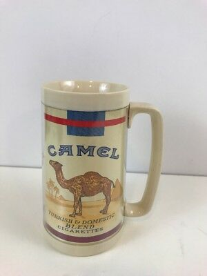 Vintage HTF Thermo Serv Insulated Camel Cigarettes Turkish Cup Mug Rare