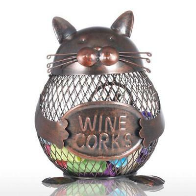 Tooarts Cat Kitten Wine Cork Container