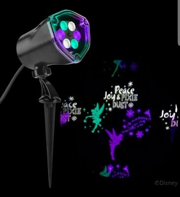 Disney Holiday Tinker Bell LightShow Projection LED Holiday Light Projector