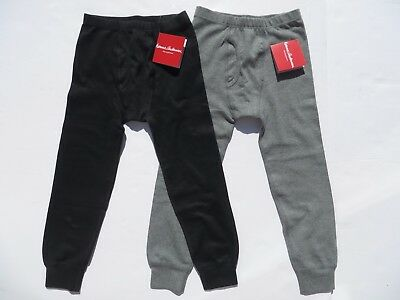Hanna Andersson Boys Long Underwear Organic Small Medium Large NEW 100 120 140