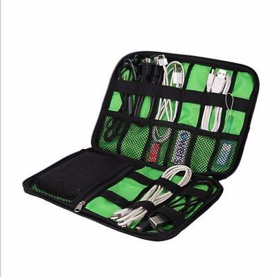 Waterproof Storage Organizer USB Cable Bag Earphone Charger Hard drive Devices