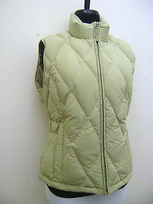 Gorgeous Eddie Bauer Goose Down Quilted Puffer Zip Vest Jacket Women's S / Small