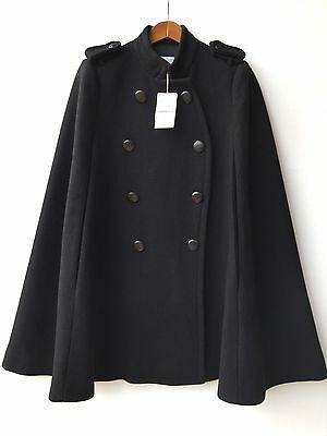 [ COUNTRY ROAD ] button detail cape [ size: XXS,S,M ] suites 6-16 BRAND NEW!!