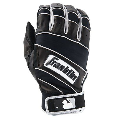 Franklin Sports - The Natural II Batting Gloves - Youth Large With Moisture New