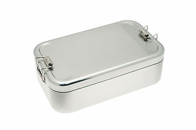 Lunchbox XL ** MEHR VOLUMEN ** Vesper Dose Brotbüchse / Metall Picknick Box
