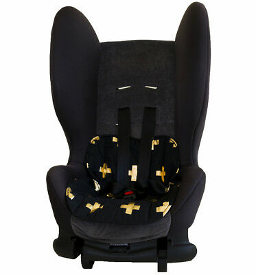 Bambella Designs Car Seat Protector- Gold Cross