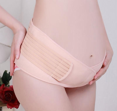 Comfortable Maternity Belt Abdomen Support Maternity Accessory Breathable Pink