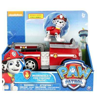 Paw Patrol Vehicle With Pup - Marshall's Fire Fighting Truck