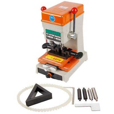 110V Laser Copy Duplicating Machine With Full Set Cutters F Locksmith Tools