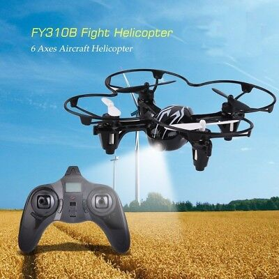 6-axis 4 Channel 2.4G Quadcopter Helicopter Drone With Remote Control Kids Toy