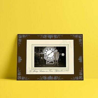 Back to the Future Partners in Time Photo 1885 - A3 A4- FREE Shipping - QFC