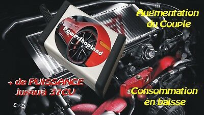 CHIPTUNING RENAULT CLIO 4 IV 1.5 DCI - Puce Box Chip Tuning Boitier Additionnel
