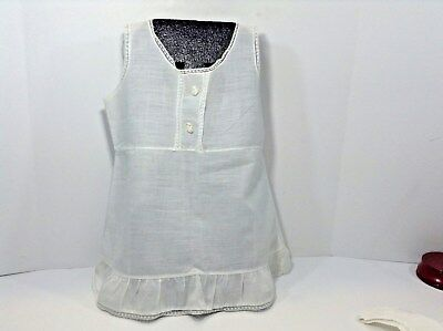 Vtg=1950's=Girl's-Cotton Slip=Great Condition For Age=Please See Photo's