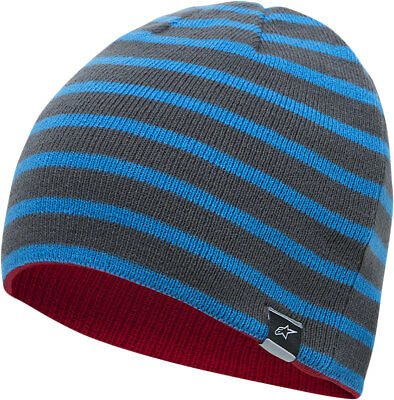 ALPINESTARS 2017 TOTAL Reversible Acrylic Beanie (Blue/Red) One Size