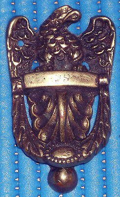 Old Re-Claimed Solid Brass Door Knocker