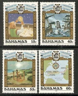 Bahamas Sg908/11 1991 500Th Anniv. Of Discovery Of America By Columbus Mnh
