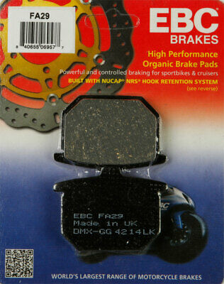 EBC Organic OE Quality Replacement Brake Pads / One Pair (FA29)