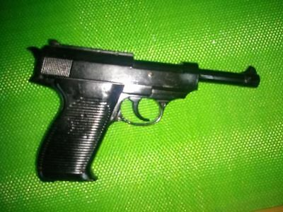 Costume toy gun WWII german officer army reenactment prop Walther Wehrmach P38