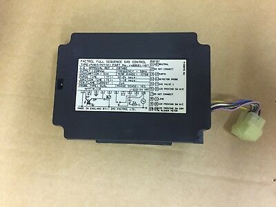 Pactrol Full Sequence Gas Control Type P16DI/JST (CE) Part No 400601/V07