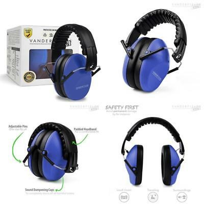 Earmuffs For Kids Toddlers Children Babies Hearing Protection Marine Blue Xmas