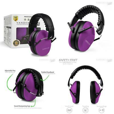 Ear Protector Kids Toddlers Children Babies Hearing Protection Purple Power