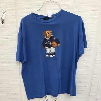 Vintage Polo Bear T Shirt