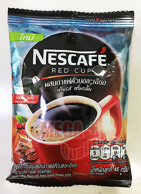45 Grams Nescafe Red Cup Instant Coffee Mixed With Finely Ground Roasted Coffee
