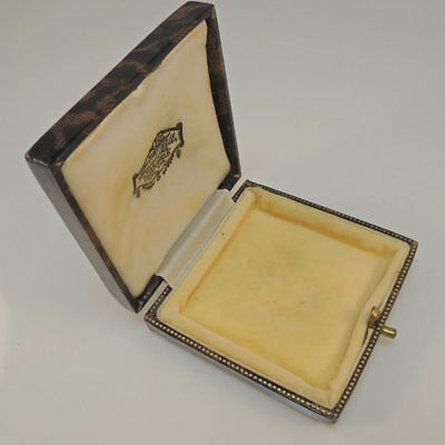 Antique Vintage Brooch Box Jewellery - Jewelry Display Presentation Case
