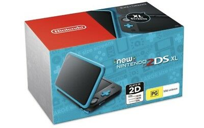 New Nintendo 2Ds Xl (Nero & Turchese) Console Portatile (Compatible Giochi 3Ds)