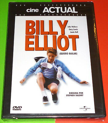 BILLY ELLIOT English Español Français Italiano DVD R2 Precintada