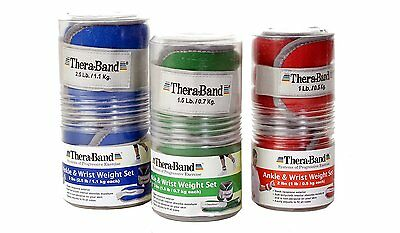 Theraband Ankle Wrist Weights - ALL SIZES - CHEAPEST ONLINE!