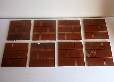 antique victorian fire surround tiles