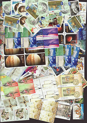 Australian large group of Postage stamps, mixed values, Face is $699