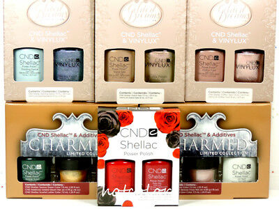 CND SHELLAC UV Gel Polish HOLIDAY Collection Color, Base, Top Coat /Choose Any