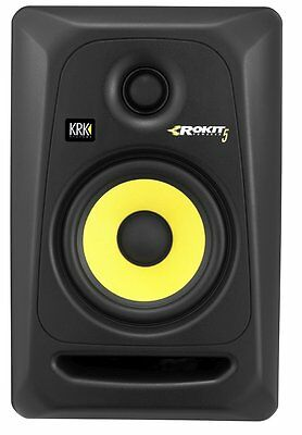 KRK RP5G3 Rokit 5 Active Generation-3 Powered Studio Monitor 2-Way (Single Unit)