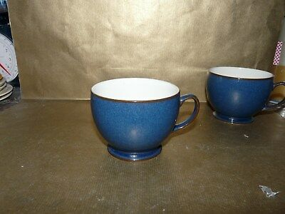 denby boston blue large breakfast cup no saucer