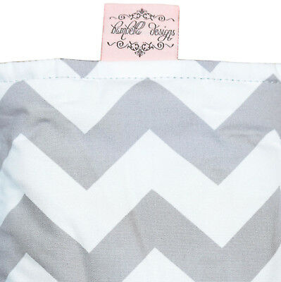 Bambella Designs Pram Footmuff- Grey Chevron