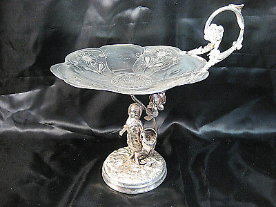 Vintage Reed & Barton  Figural Compote