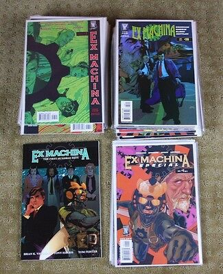 Ex Machina #1 TPB - The First Hundred Days + issues 6-50 Full Run of story 1-50