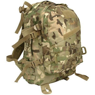 Viper Tactical Special Ops Pack MOLLE Backpack Military Rucksack 45l V-Cam Camo
