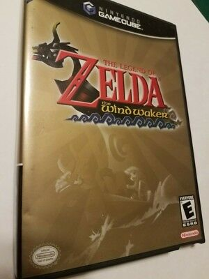 Legend of Zelda: The Wind Waker (Nintendo GameCube, 2003) Black Label - Complete